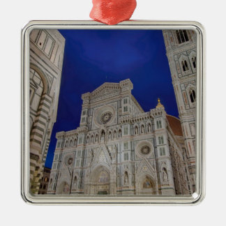 The Cathedral of Santa Maria del Fiore in italy Metal Ornament