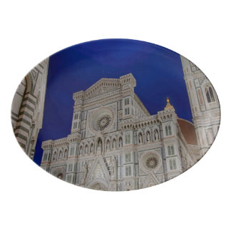 The Cathedral of Santa Maria del Fiore in italy Porcelain Serving Platter