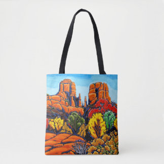 The Cathedral Rock Tote Bag