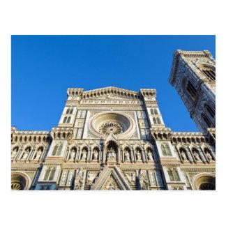 The cathedral Santa Maria del Fiore , Firenze, Postcard