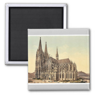 The cathedral, side, Cologne, the Rhine, Germany r Magnet