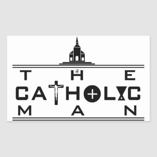 The Catholic Man sticker