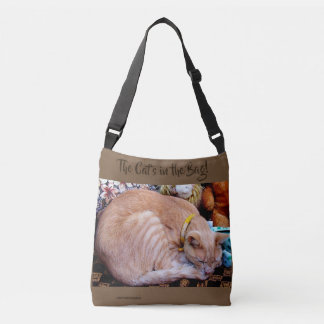 THE CAT'S IN THE BAG! CROSSBODY BAG