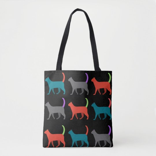 The cats in the bag! tote bag