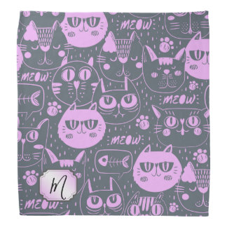 The Cats Meow Orchid Pink ID480 Bandana