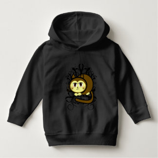 The Cat's Meow  With Swirls Hoodie