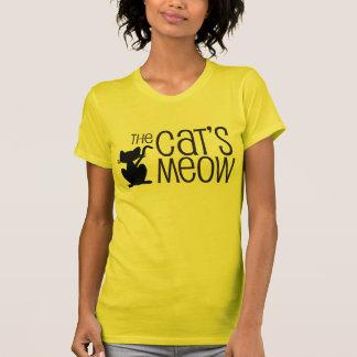 The Cat's Meow Women's Gold T-shirt