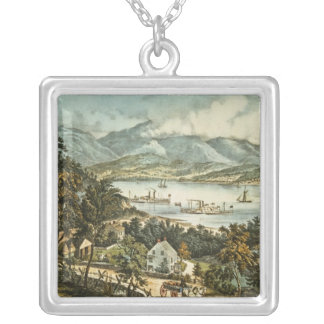 The Catskill Mountains Silver Plated Necklace