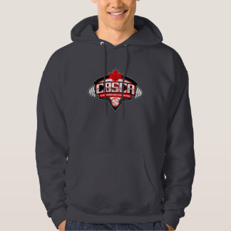 The CBSCA Men's Basic Hooded Sweatshirt Dark Grey