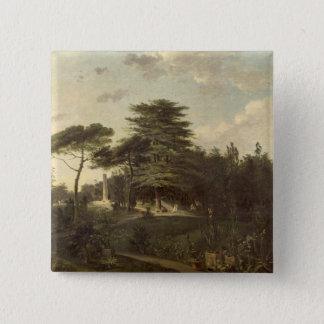 The Cedar of Lebanon in the Jardin des Plantes 2 Inch Square Button