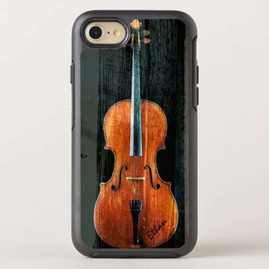 The Cello Artistic Cool Grunge OtterBox Symmetry iPhone 7 Case