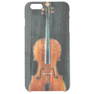 The Cello Artistic Cool Grunge Personalized Clear iPhone 6 Plus Case