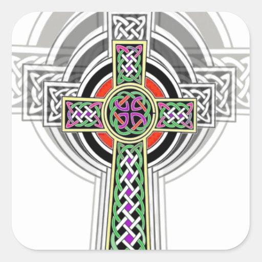 The Celtic Cross. Sticker