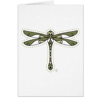 The Celtic Dragonfly Card