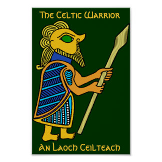 The Celtic Warrior Poster