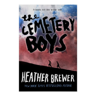 The Cemetery Boys Hardcover Art Poster