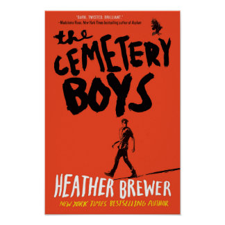 The Cemetery Boys Paperback Cover Poster
