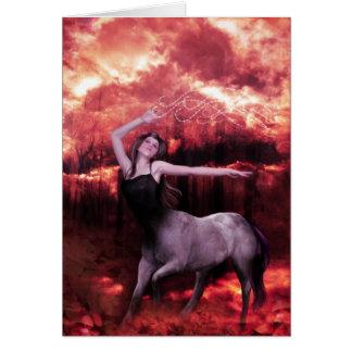 The Centaur Card