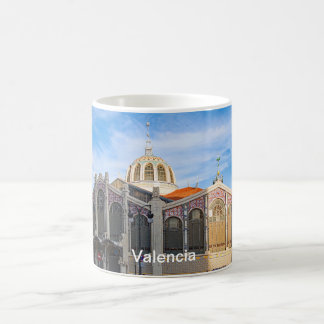 The central market of Valencia. Coffee Mug