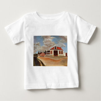 The chair factory at Alfortville by Henri Rousseau Baby T-Shirt