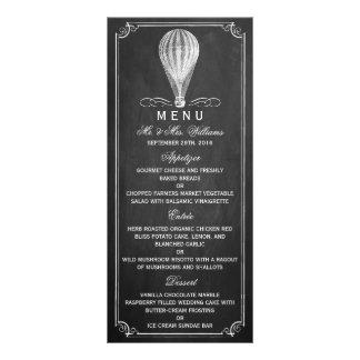 The Chalkboard Hot Air Balloon Wedding Collection Rack Card