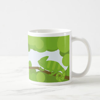 The chameleon which finds the game coffee mug