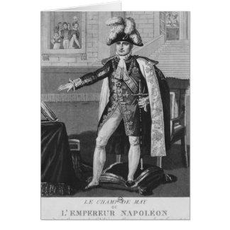 The 'Champ de Mai' or Emperor Napoleon I Card