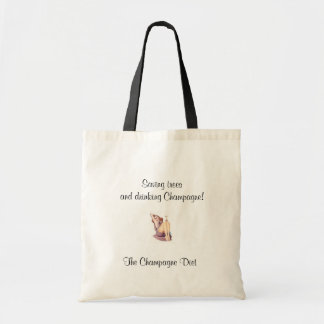 The Champagne Diet Tote Bag