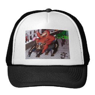 The Champion of Wall Street Trucker Hat