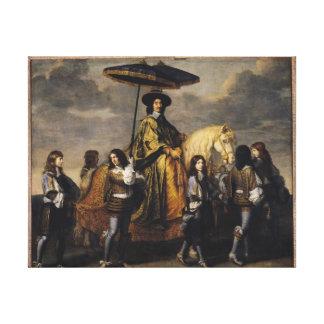 The Chancellor Seguier Canvas Prints