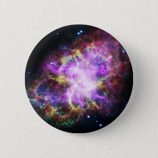 The Chandra X-ray in the Crab Nebula 2 Inch Round Button