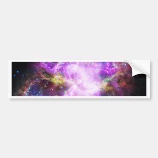 The Chandra X-ray in the Crab Nebula Bumper Sticker