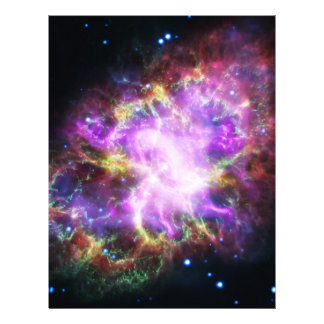 The Chandra X-ray in the Crab Nebula Letterhead