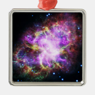 The Chandra X-ray in the Crab Nebula Metal Ornament