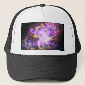 The Chandra X-ray in the Crab Nebula Trucker Hat