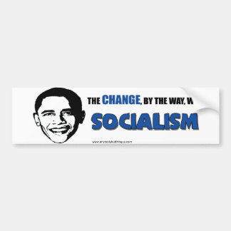 The Change, By the Way- Bumper Sticker