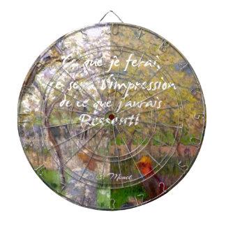 The change of the seasons renew my soul dartboard