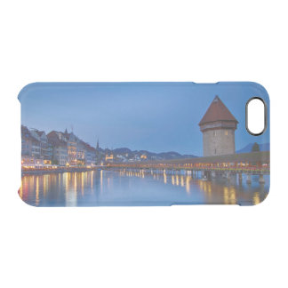 The Chapel Bridge in Lucerne Clear iPhone 6/6S Case