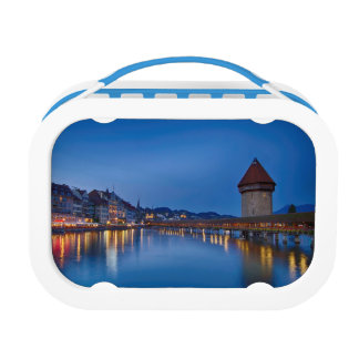 The Chapel Bridge in Lucerne Lunch Box