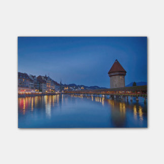 The Chapel Bridge in Lucerne Post-it® Notes