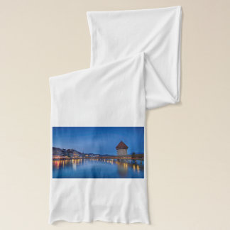 The Chapel Bridge in Lucerne Scarf