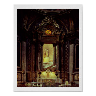 The Chapel of the Virgin, 1770's (photo) Poster
