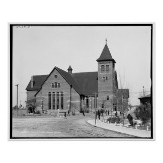The Chapel, Tuskegee Institute, Ala. c1906 Poster