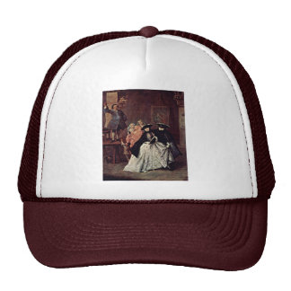 The Charlatan By Longhi Pietro (Best Quality) Trucker Hat