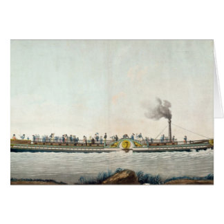 The Charles-Philippe, the first steamboat Card