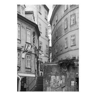 The charm of Vienna's lanes Photo Print