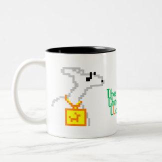 The Charmed Llama Two-Tone Coffee Mug