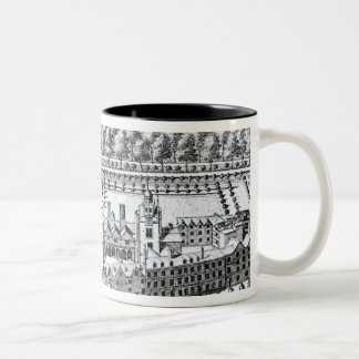 The Charterhouse Hospital, c.1720 Two-Tone Coffee Mug