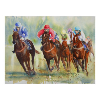 The Chase horse racing poster