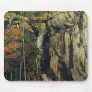 The Chasm at Conches, 1864 Mouse Pad